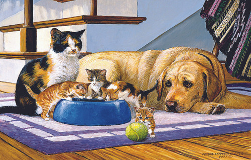 What's a Dog to Do? - 100pc Jigsaw Puzzle By Sunsout