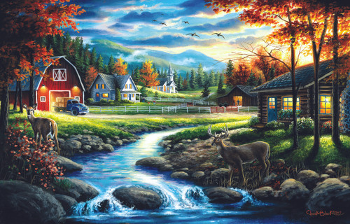 Country Sunday - 1000pc Jigsaw Puzzle By Sunsout