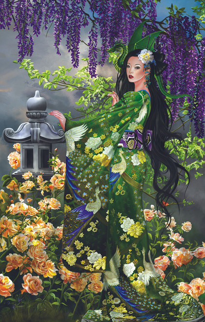 Queen of Jade - 1000pc Jigsaw Puzzle By Sunsout