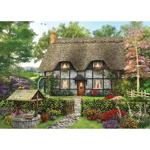 Picture Perfect II: Meadow Cottage - 1000pc Jigsaw Puzzle by Holdson