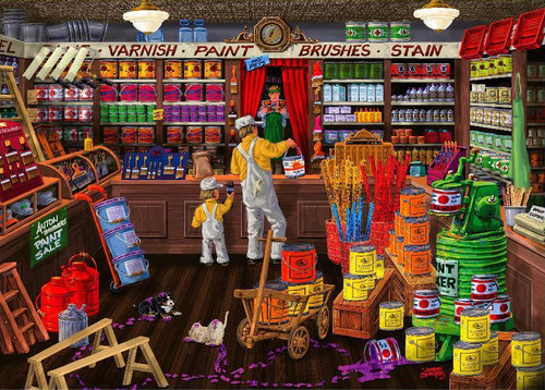 Love to Shop: Colour It Purple - 1000pc Jigsaw Puzzle by Holdson