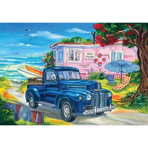 Southern Skies III: Pink Palace - 500pc Jigsaw Puzzle by Holdson
