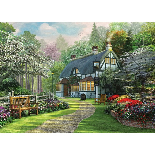 Picture Perfect III: The Cottage Pub - 1000pc Jigsaw Puzzle by Holdson