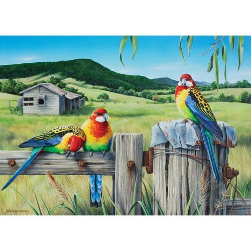 Wild Wings: A Country Life - 1000pc Jigsaw Puzzle by Holdson