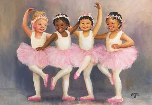 Little Ballerinas - 500pc Jigsaw Puzzle by Anatolian