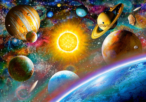 Outer Space - 500pc Jigsaw Puzzle By Castorland
