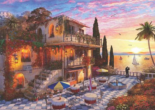 Mediterranean Romance - 3000pc Jigsaw Puzzle by Anatolian