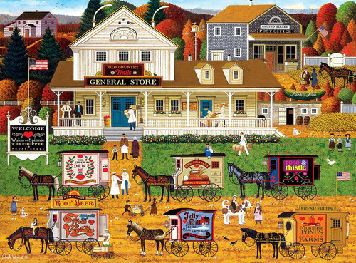 Charles Wysocki: Storin' Up - 1000pc Jigsaw Puzzle by Buffalo Games