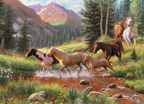 Mountain Thunder - 1000pc Jigsaw Puzzle By Cobble Hill