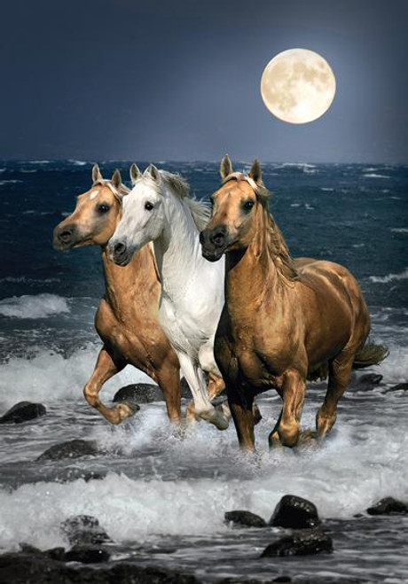 Running Horses - 1500pc Jigsaw Puzzle by Clementoni