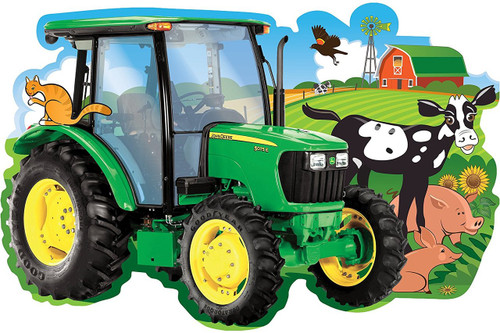 John Deere: Friends on the Farm - 36pc Floor Jigsaw Puzzle By Masterpieces
