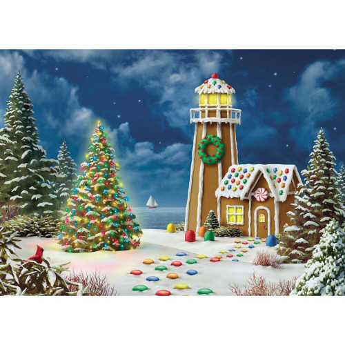 Gingerbread Light - 500pc Jigsaw Puzzle by Masterpieces