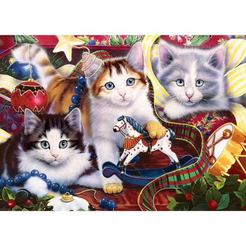 Holiday Mischief - 500pc Jigsaw Puzzle by Masterpieces