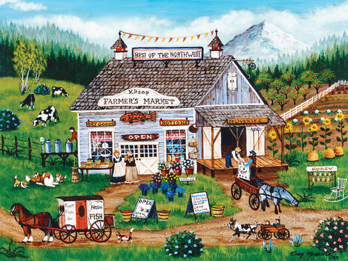 Best of the Northwest - 750pc Jigsaw Puzzle by Masterpieces