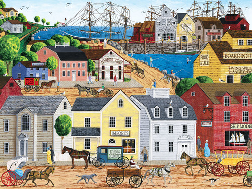 Home Port - 300pc EzGrip Jigsaw Puzzle by Masterpieces