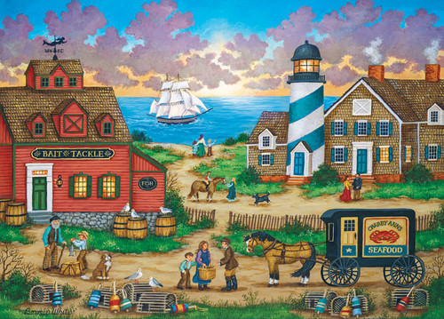 Heartland Collection: The Days End - 550pc Jigsaw Puzzle by Masterpieces