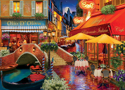 Colorscapes: It's Amore! - 1000pc Jigsaw Puzzle by Masterpieces