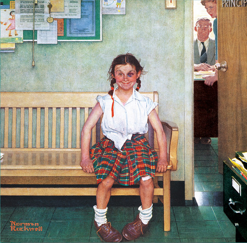 Saturday Evening Post Norman Rockwell: The Shiner - 1000pc Jigsaw Puzzle by Masterpieces