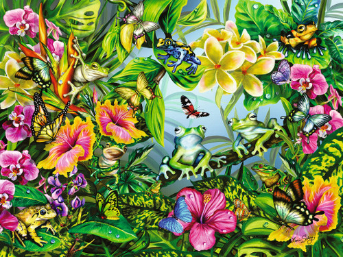 Find the Frogs - 1500pc Jigsaw Puzzle by Ravensburger