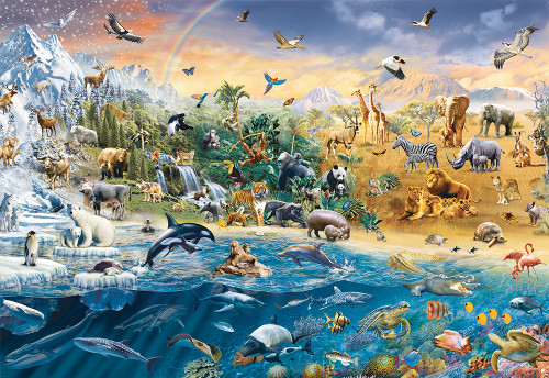 Our Wild World - 1500pc Puzzle by Ravensburger