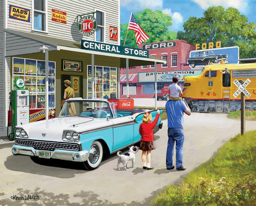 American Classics - 1000pc Jigsaw Puzzle By White Mountain