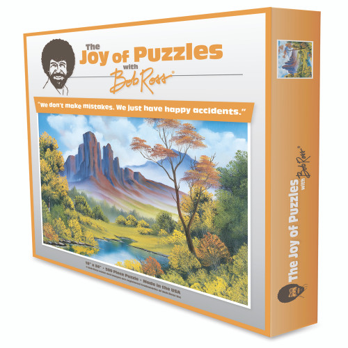 Fall 500 Piece Jigsaw Puzzle 6817 Wellspring Bob Ross The Joy Of Puzzles
