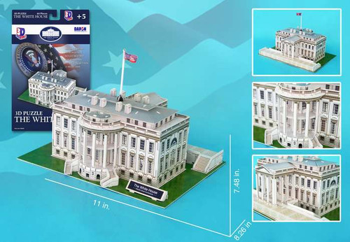 3D Puzzles - White House