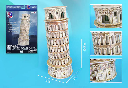 3D Puzzles - Leaning Tower of Pisa