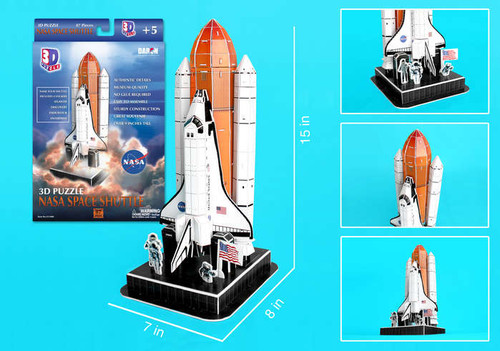 3D Puzzles - NASA Space Shuttle