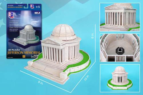 3D Puzzles - Jefferson Memorial
