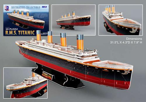 3D Puzzles - Titanic
