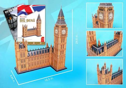 3D Puzzles - Big Ben