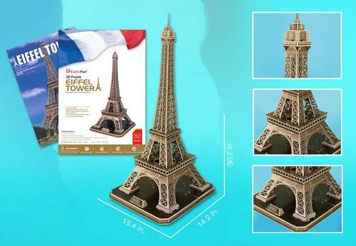 3D Puzzles - Eiffel Tower