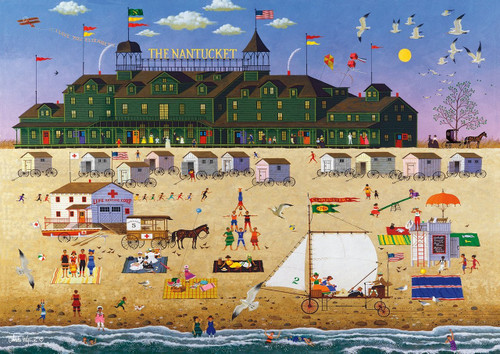 Charles Wysocki: The Nantucket - 300pc Large Format Jigsaw Puzzle by Buffalo Games