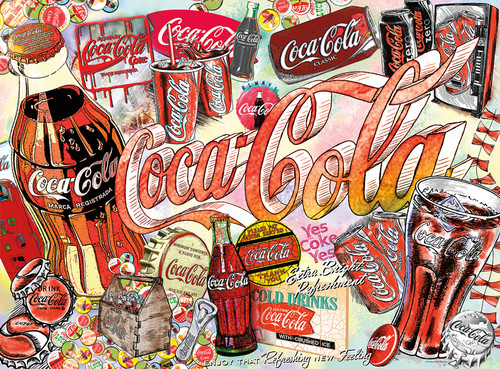 Coca-Cola: Enjoy Coca-Cola - 1000pc Jigsaw Puzzle by Buffalo Games