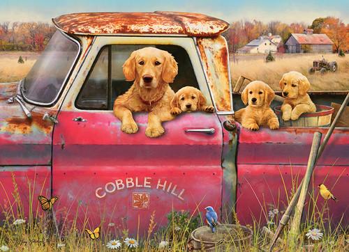 Cobble Hill Farm - 1000pc Jigsaw Puzzle by Cobble Hill