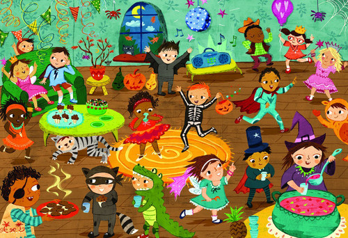 Costume Party - 60pc Jigsaw Puzzle by Eurographics