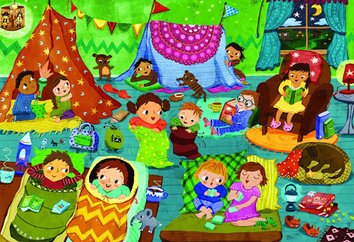 Pajama Party - 60pc Jigsaw Puzzle by Eurographics
