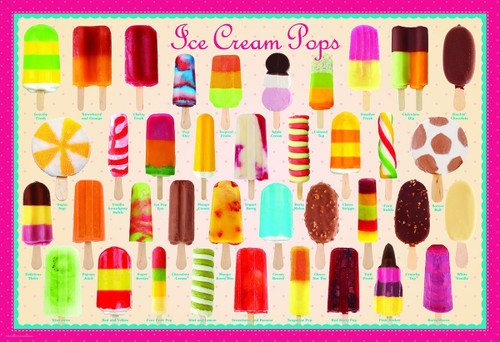 Ice Cream Pops - 100pc Jigsaw Puzzle by Eurographics