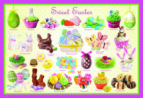Sweet Easter - 100pc Jigsaw Puzzle by Eurographics