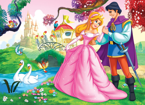 Cinderella - 100pc Jigsaw Puzzle by Eurographics