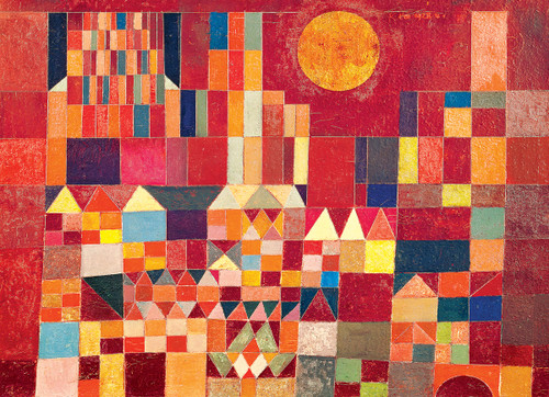 Castle and Sun by Paul Klee - 100pc Jigsaw Puzzle by Eurographics