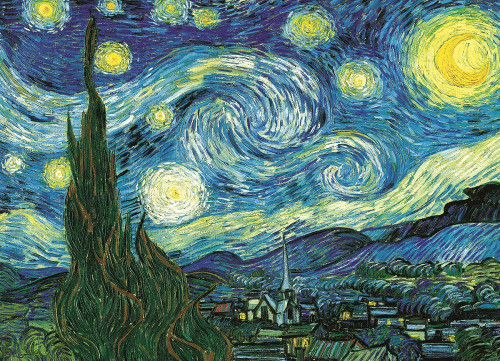 Starry Night by Vincent van Gogh - 100pc Jigsaw Puzzle by Eurographics