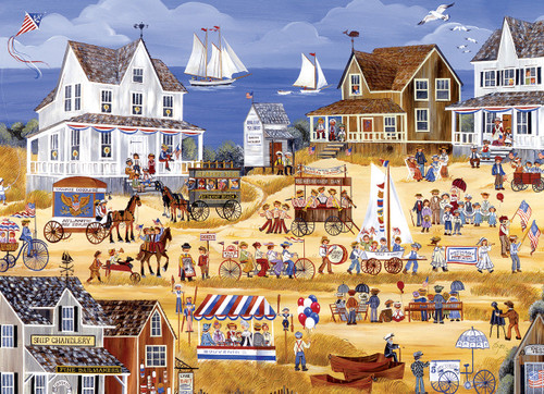 Dyer: 4th of July Parade - 300pc Jigsaw Puzzle by Eurographics