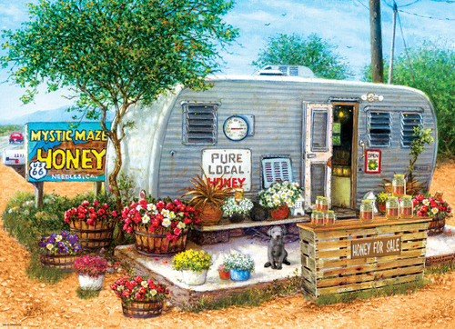 Honey For Sale - 500pc Jigsaw Puzzle by Eurographics