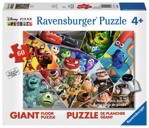 Ultimate Pixar - 60pc Floor Jigsaw Puzzle By Ravensburger