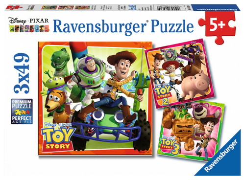 History - 3x49pc Jigsaw Puzzle By Ravensburger