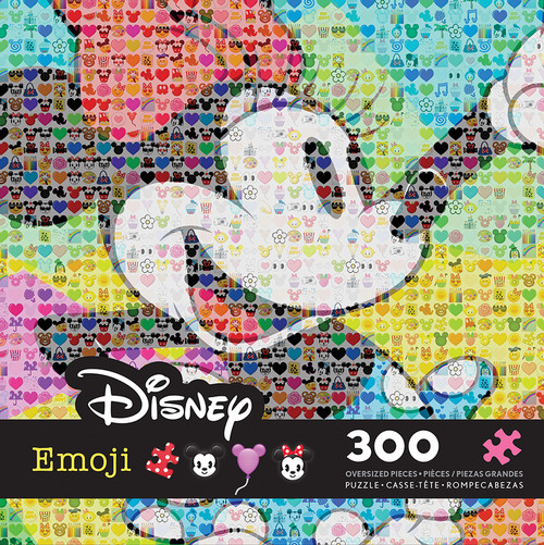 Minnie, Disney Emoji - 300pc Jigsaw Puzzle by Ceaco