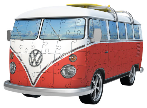 VW Bus T1 - 162pc 3D Jigsaw Puzzle By Ravensburger