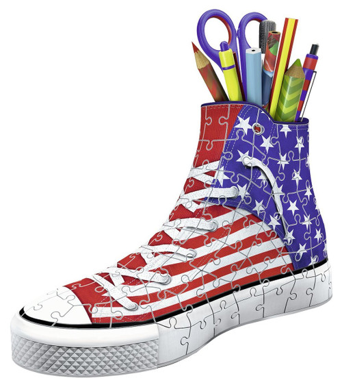 Sneaker: American Style - 108pc 3D Jigsaw Puzzle By Ravensburger